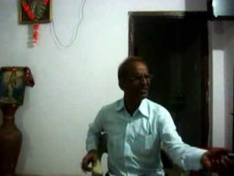 TRIBUTE TO MANNADEY.BY GIRISH SHARMA. .by singing song TUJHEY...