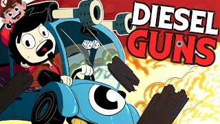 CARS with NUKES! | A Twisted Metal Knockoff!? (DIESEL GUNS Multiplayer w/ Friends)