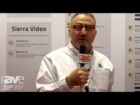 ISE 2017: Kramer Talks About 4K Product Portfolio
