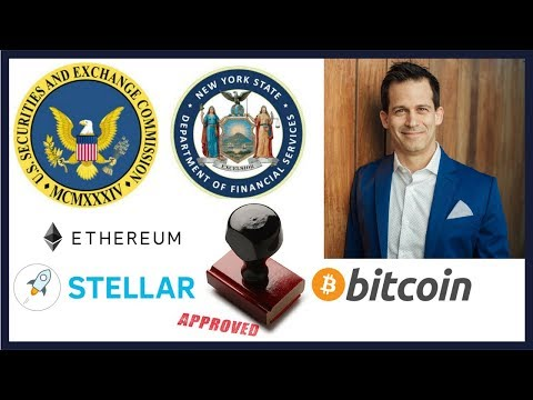 SEC & Bitlicense approve Bitcoin, Ethereum, Stellar Lumens, and are more coming?