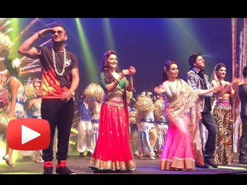Madhuri Dixit, Shahrukh Khan, Rani Mukerji, Honey Singh - Auckland Performance Pictures video