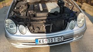 Mercedes Benz W211 E270 Engine sound