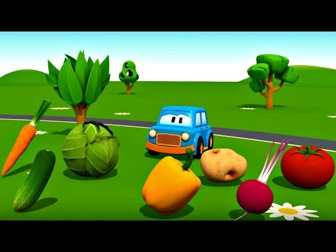 Eğitici çizgi film – Akıllı arabalar – Sebzeler – Türkçe dublaj