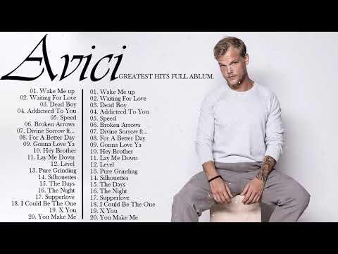 Avicii Greatest Hits Full Album   Best Of Avicii Playlist 2021