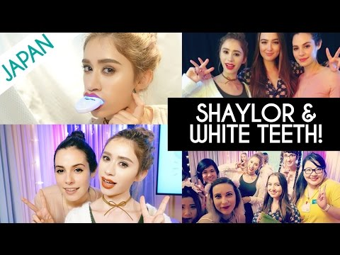 HOW TO GET WHITE TEETH AT HOME + SHAYLOR EVENT