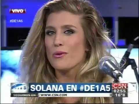 C5N - MUSICA EN VIVO: SOLANA EN DE 1 A 5 (PARTE 1)