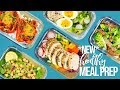 5 NEW Healthy Meal Prep Ideas | New Year Ideas!