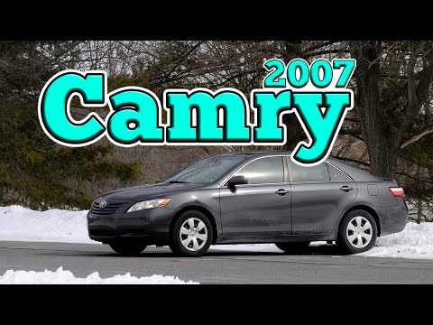 Regular Car Reviews: 2007 Toyota Camry LE