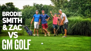 Golf Scramble Match With Brodie Smith And GM Golf | Lightning Bug Golf Course