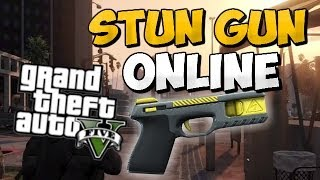 GTA 5 ONLINE : Stun Gun Online Gameplay !! (Possibly Coming) Get Stun Gun