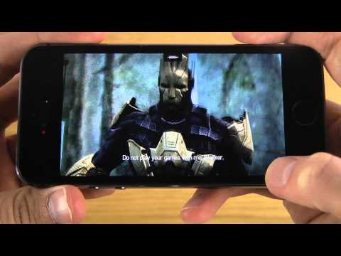 Infinity Blade 3 iPhone 5S HD Gameplay Review