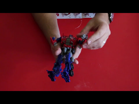 Evasion Mode Optimus Prime Unboxing & Review. Transformers Age of Extinction (AoE)