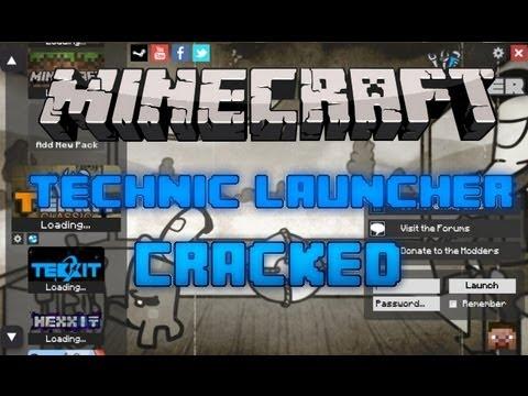 How to play Technic/Tekkit classic Free! Cracked Technic Launcher