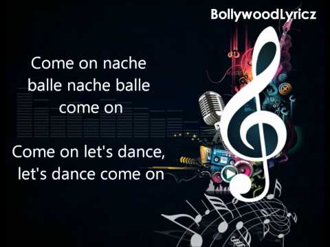 Nach Baliye [english Translation] Lyrics video