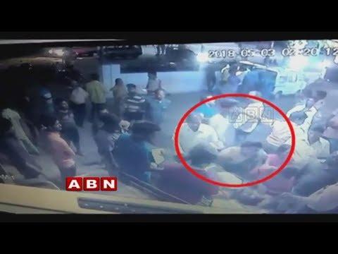 Telangana Jagruthi Uppal Convenor Santosh Thrashes A Man | ABN Telugu