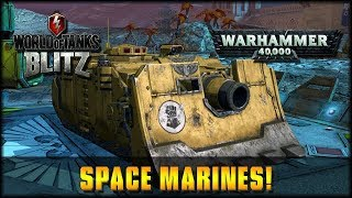 World of Tanks Blitz - Space Marines! [ deutsch | gameplay ]