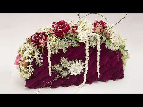 Флористика Сумка из живыз цветов (Мастер Класс) Floral. Floral  purse.