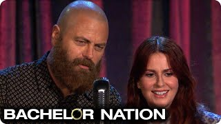 Bachelor 'Firsts' With Megan Mullally & Nick Offerman | The Bachelor US