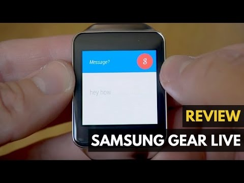 Samsung Gear Live Review: 9 Things about the Android Wear Smartwatch - Gadget Review