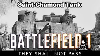 Battlefield 1 - Saint Chamond Tankı İle Gece Savaşı / Night Battle With St Chamond Tank