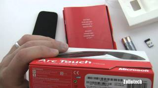 Microsoft Arc Touch Mouse Unboxing