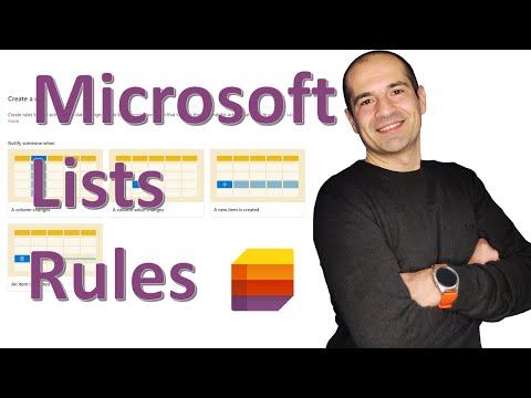 📃 How to create a list rule in Microsoft Lists SharePoint and Teams [LATEST IMPROVEMENTS]
