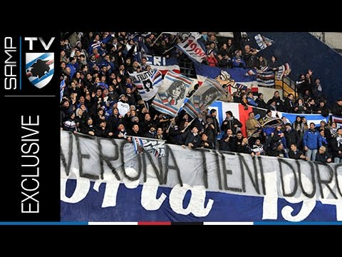#vivilasamp: lo storico gemellaggio tra Hellas Verona e Sampdoria