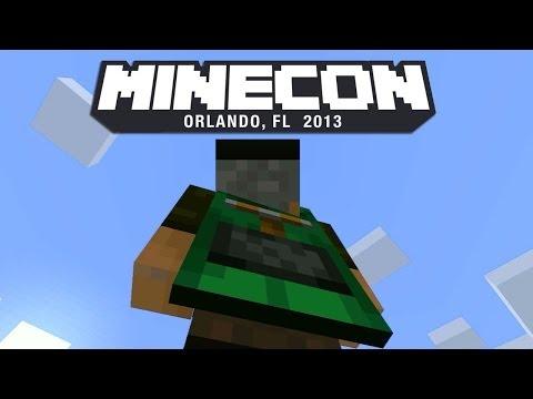 YA TENGO LA CAPA DE MINECRAFT!! - MINECON 2013