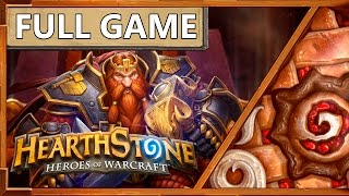 Hearthstone. Full Game. Патрон воин Vs Контроль воин