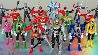 Power Rangers Action Hero Review (Super Megaforce 5 inch Figures)