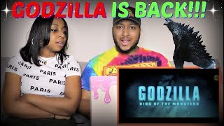 """""""GODZILLA 2: King of the Monsters"""" Trailer REACTION!!!"""