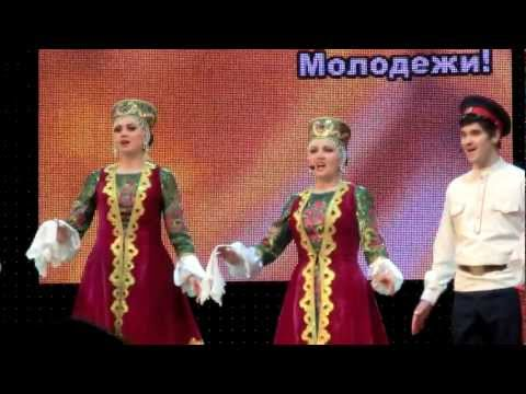 Народный aнсамбль песни и танца Околица г.Донецк.MOV