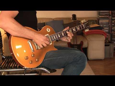No2: 2012 Gibson Les Paul Custom Shop Lee Roy Parnell Signature 1957 Reissue Goldtop Part2