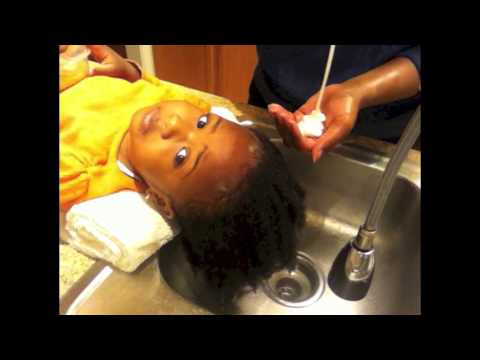 Natural Kids 1 Washing Natural Hair For A Toddler Youtube
