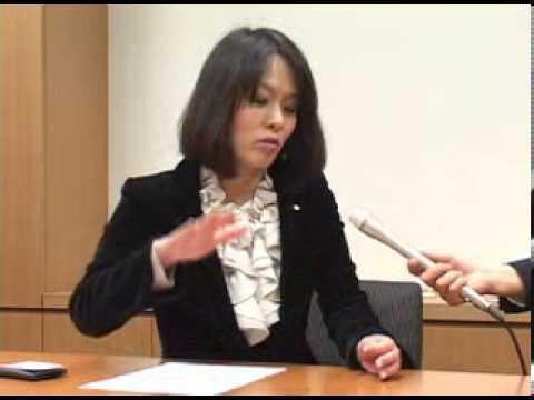 日本映像通信制作 衆議院議員杉田水脈への「初当選議員に聞く!」 - YouTube