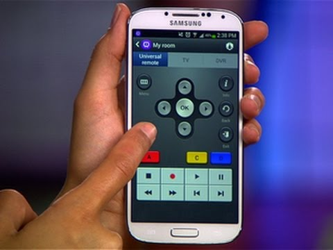CNET How To - Use your Galaxy S4 as a universal remote