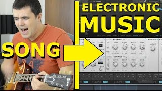 How to Make Electronic Music From a Song