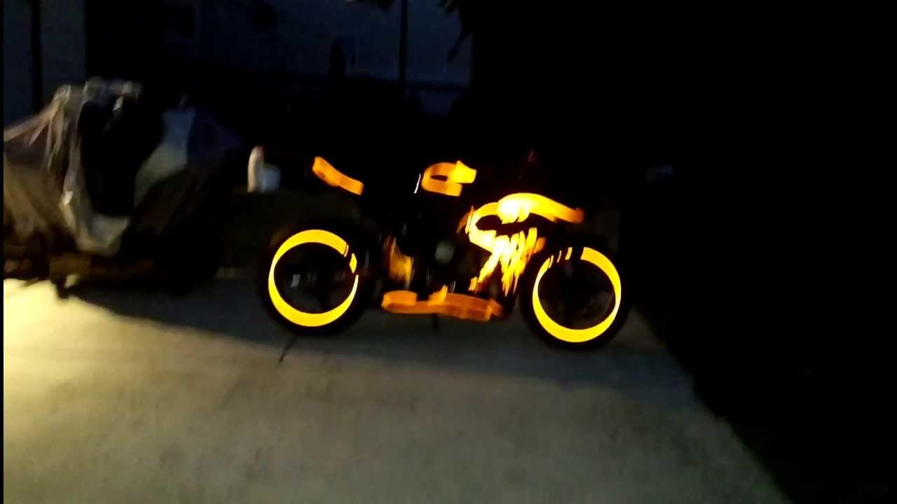 honda cbr rr black  orange graffiti edition youtube