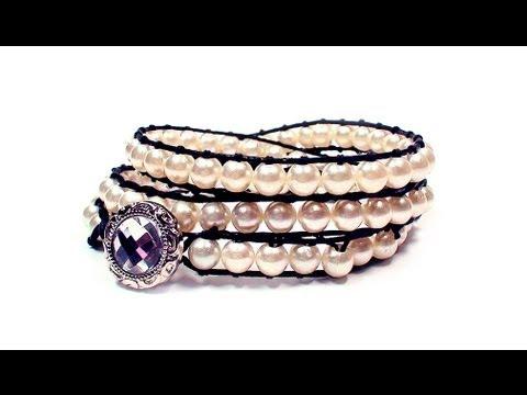 DIY: wrap bracelet / Крученый браслет своими ...