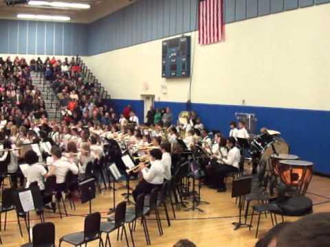 Minooka Intermediate School 6th grade Band Winter Concert 12.6.2012