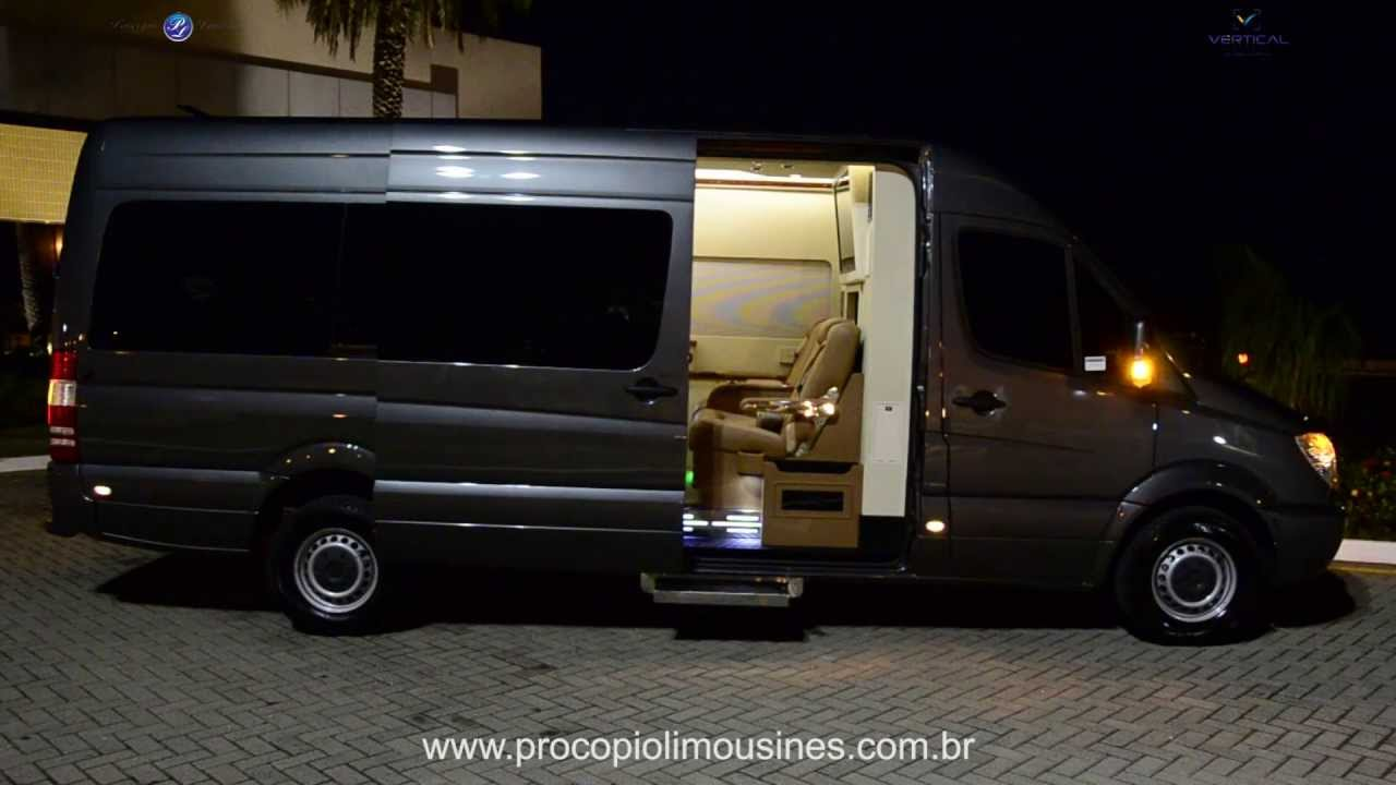 Jetvan sprinter aviation style by proc pio limousines for Mercedes benz sprinter jetvan