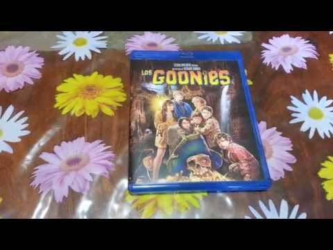Unboxing Los Goonies Blu-ray