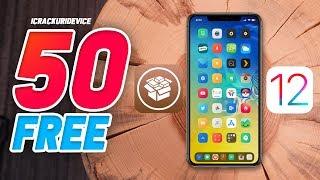 Top 50 FREE Jailbreak Tweaks on iOS 12 - 12.1.2! (Unc0ver Cydia Tweaks #2)