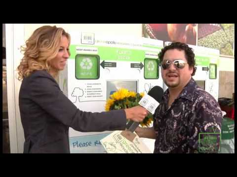 2 Millionth Container Recycled with Greenopolis Kiosk at Who