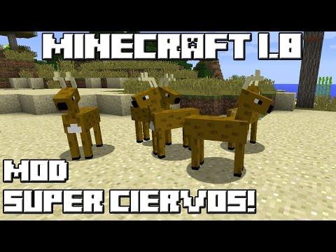 Minecraft 1.8 MOD SUPER CIERVOS!