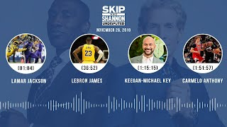 Lamar Jackson, LeBron James, Keegan-Michael Key joins the show | UNDISPUTED Audio Podcast