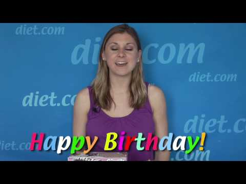 Happy Healthy Birthday Cake Ideas