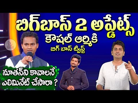 Big boss 2 Telugu Updates | Eagle Media Works Ganesh & Nutan Naidu Elimination | Weekend |