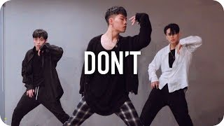 Download Lagu Don't - Ed Sheeran / Jinwoo Yoon Choreography Gratis STAFABAND
