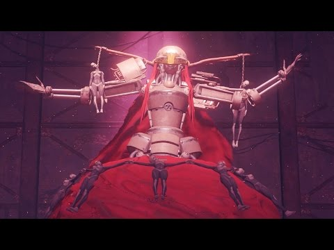 Nier Automata: Boss Fight #3 Opera Singer (1080p 60fps)